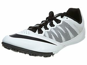 a5d6610b2a79 NIKE ZOOM RIVAL S7 TRACK SPIKES RUNNING WHITE BLACK MENS SIZE 13 NEW ...