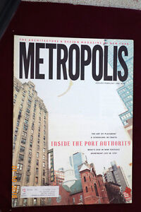Details about Metropolis Architecture and Design Magazine of New York  January/February 1988