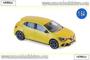 Renault-Megane-RS-2017-Sirius-Yellow-NOREV-NO-310901-Echelle-1-64