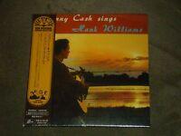 Johnny Cash Sings Hank Williams Japan Mini Lp Sealed