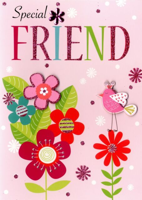 Special Friend Birthday Greeting Card Second Nature Yours Truly