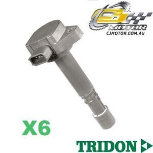 TRIDON-IGNITION-COIL-x6-FOR-Honda-Accord-V6-CK-2001-06-03-V6-3-0L-J30A1
