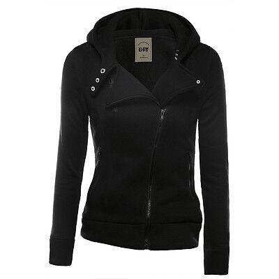 Women Winter Hooded Hoodie Sweatshirt Sport Wear Zip Coat Pullover Jumper Top