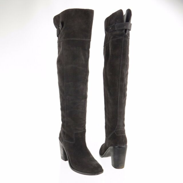 199622df15c Women s Dolce Vita Okana Shoes Brown Suede Over The Knee BOOTS Size 8 M for  sale online