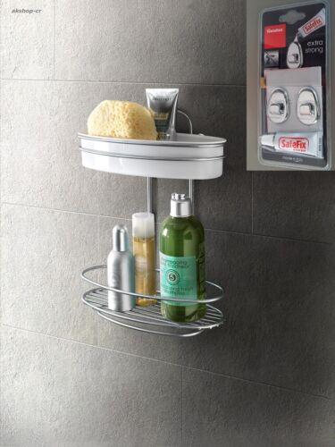 De salle de bain badalage étagère de douche 2 étages avec petites pièces-armoire sans percer