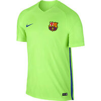 Nike FC Barcelona Aeroswift Strike Top Tshirt T-shirt NEW 829975-368 ghost green