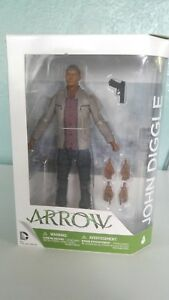 DC Comics Collectible Action Figures Arrow John Diggle