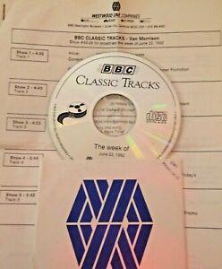 RADIO SHOW: BBC CLASSIC TRACKS w/RICHARD SKINNER 6/22/92 VAN MORRISON LIVE