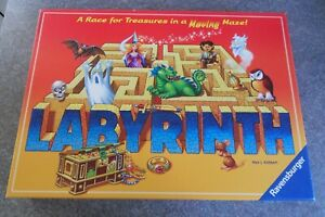 Labyrinth Ravensburger 2007 Board Game Replacement Spare Parts Pieces Cards