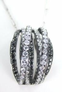 SHIMANSKY-DESIGNER-PENDANT-BLACK-DIAMONDS-18KT-WHITE-GOLD-NECKLACE-016333701