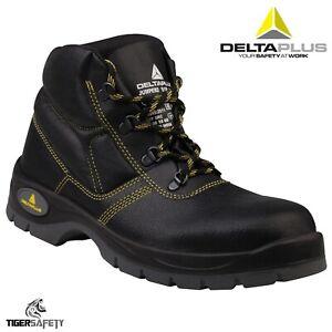 Delta Plus Jumper 2 S1P Black Leather