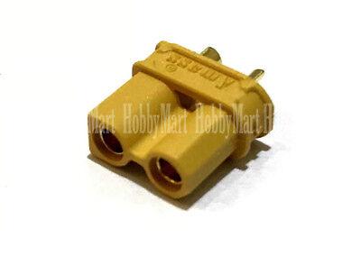 AMASS Genuine XT30U Male Female 2.0mm Bullet Connector for RC Li-PO Battery ESC