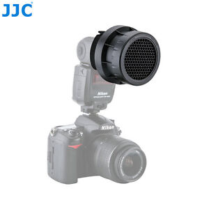 JJC-SG-L-Stacking-Grid-Light-Spot-Spotlight-Modifier-For-CANON-540EZ-600EX-RT