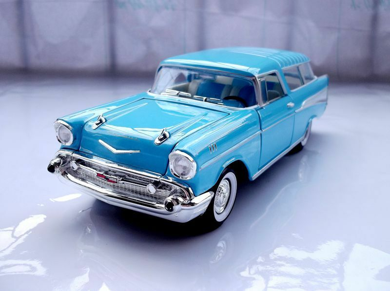 Unterschrift 1957er chevrolet nomad alu - auto - modell