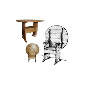 Woodworking Project Paper Plan To Build Colonial Chair