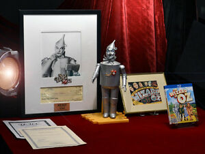 Signed-JACK-HALEY-Autograph-Framed-WIZARD-OF-OZ-Tin-Man-COA-DOLL-DVD-Poster