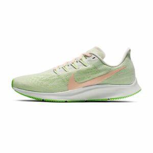 Women's Nike Chaussure De Course Air Zoom Pegasus 36 AQ2210 002 Vert Taille 5.5 & 7 Entièrement neuf dans sa boîte