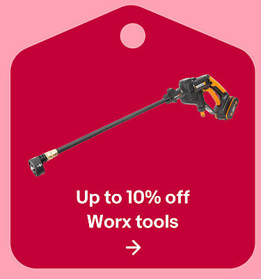Up to 10% off Worx tools