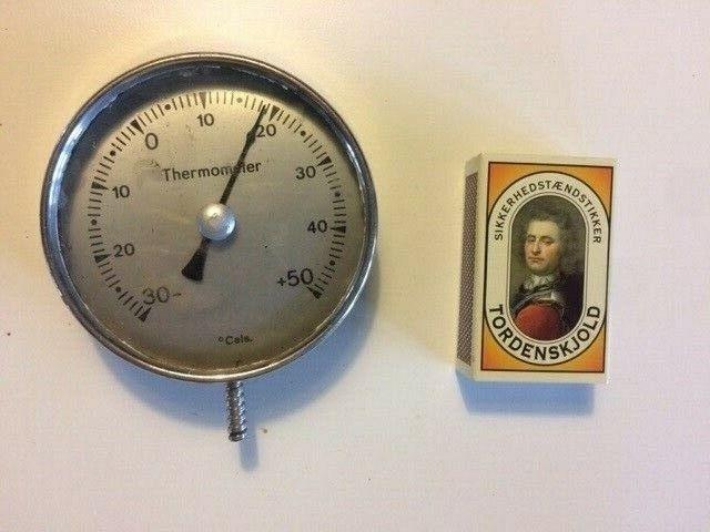Termometer, måske til radiator el. lign. ?