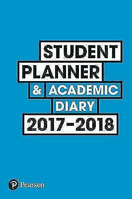 (Good)-Student Planner and Academic Diary 2017-2018 (Paperback)-McMillan, Dr Kat