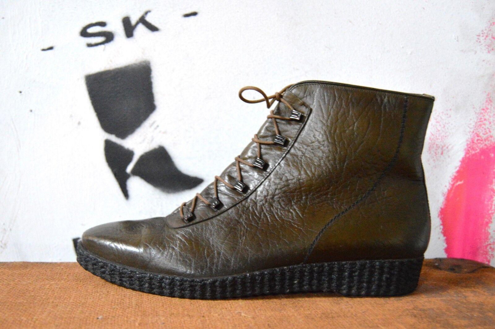 Herren Schnür WinterSchuhe Boots ADMIRAL 60er TRUE VINTAGE Schuhe Knöchelschuhe