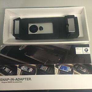 bmw iphone 6 phone charging cradle snap in adapter holder apple lightning 464. Black Bedroom Furniture Sets. Home Design Ideas