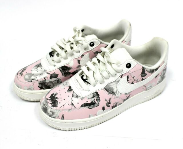 Women US Size 8.5 | Nike Air Force 1 '07 LXX Floral Rose Pink White AO1017 102