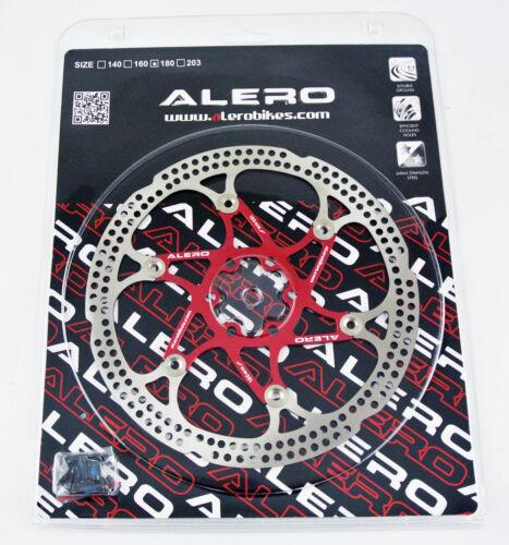 Alero RO-142 6 Bolts MTB Mountain Bike Floating Rotor Disc 160mm 180mm 203mm