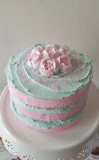 PASTEL NAKED FAKE CAKE, MARIE ANTOINETTE FAKE CAKE PHOTO PROPS, SHOP DISPLAYS