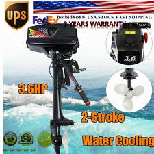Hangkai 36hp Outboard Motor 2stroke Boat Engine Water Cooling Short Shaft 40cm