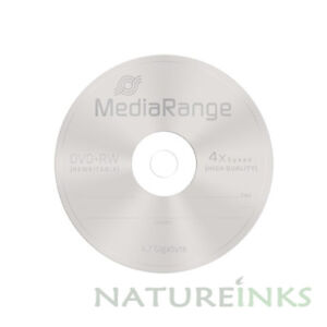10-MediaRange-DVD-RW-4-7GB-120-minutos-4x-Regrabable-Discos-en-Blanco-MR451-Mangas