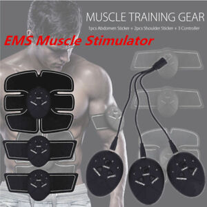 EMS-Trainer-Electric-Muscle-Stimulator-Wireless-Abdominal-6-modes-Rechargeable