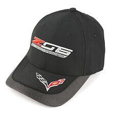 Chevrolet Corvette C7 Z06 Supercharged Carbon Fiber Black Hat Cap -Free Shipping