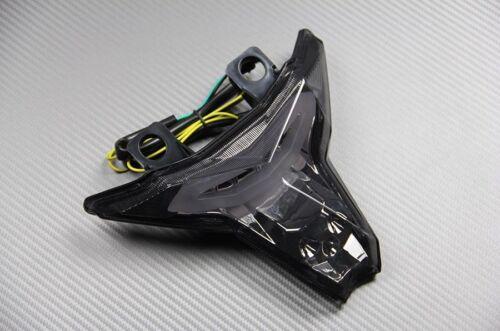 Feu arrière fumé clignotant intégré tail light Kawasaki Z 1000 2014 15 16