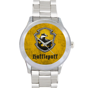 Hufflepuff-House-Homme-Acier-Inoxydable-Bracelet-Montre-Watch-Harry-Potter-fans