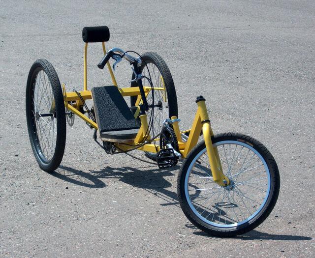 DeltaWolf Long Wheel Base Recumbent Trike DIY Plan