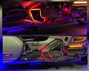 Pads-on-the-frame-with-led-backlight-Honda-goldwing-1800-Gold-Wing-GL1800