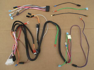 Details about MAIN AND DASH WIRING HARNESS FOR IH INTERNATIONAL 184 on
