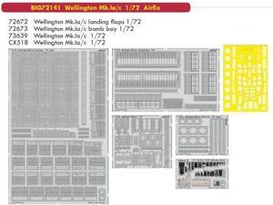Eduard Big Ed 72141 1/72 Vickers Wellington Mk.ia / C Airfix