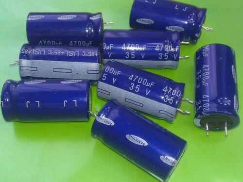20 piezas Samsung condensadores electrolíticos 4700uF 35 V 85/'C 18x37
