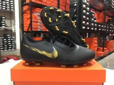 Nike Junior Phantom Venom Club FG Soccer Cleats (Black/Gold) Size: 10c-5.5y NEW!