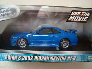 BRIAN-S-2002-NISSAN-SKYLINE-GT-R-Film-FAST-AND-FURIOUS-4-1-43-greenlight