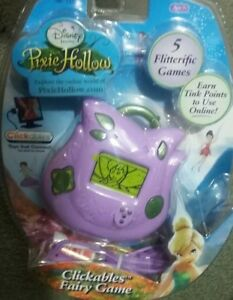 Disney-039-s-Fairies-Pixie-Hollow-Clickables-Fairy-Game-Electronic-New-Sealed-2008