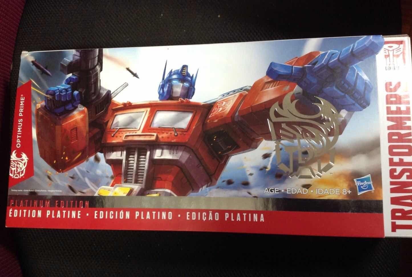 Transformers Optimus Prime Convoy G1 Hasbro THS 02 remolque de estilo híbrido
