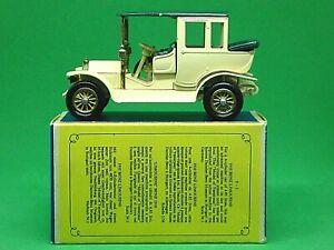 Matchbox-Lesney-Y3-2-1910-Benz-Limusina-en-tipo-039-D3-039-Caja