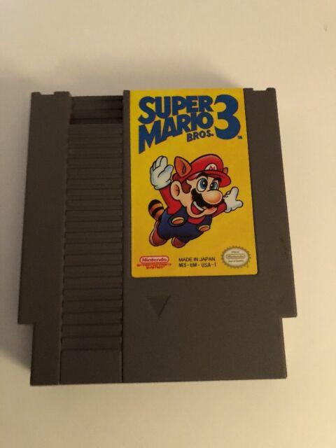 Super Mario Bros. 3 (Nintendo) NES TESTED