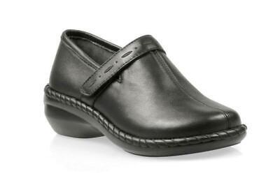 propet catalina w0274 black comfort orthopedic shoes sz 5