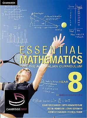 Essential Mathematics for the Australian Curriculum Year 8 by Franca Frank,...