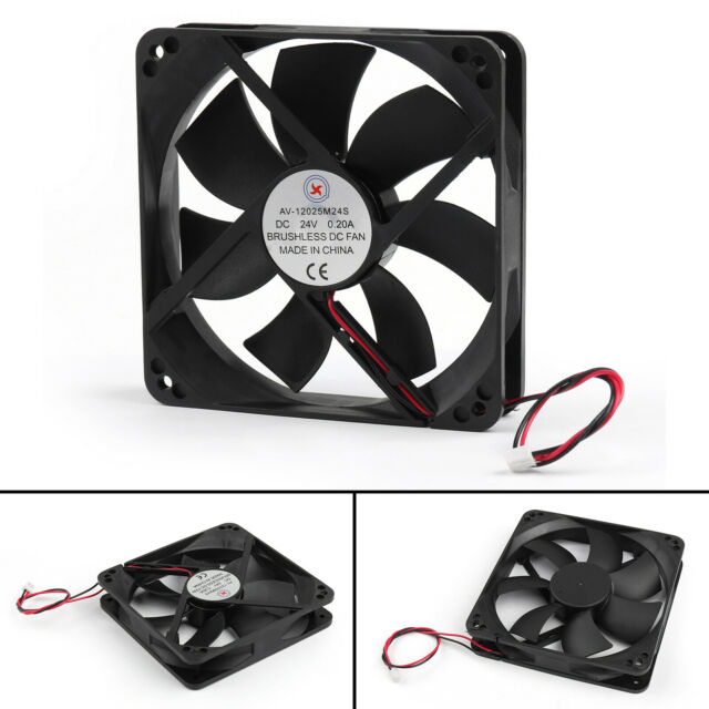 1Pc DC Brushless Cooling Blower Ventilador 24V 0.2A 12025s 120x120x25mm 2 Pin EP