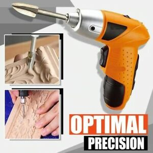Wood Carving /& Engraving Drill Bit Set